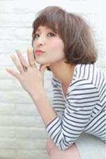 外国人風ボブ SR奈良店所属・萩原仁のスタイル