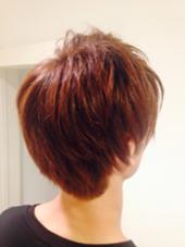 ブリーチなしで入る 最大の明度でカラー 暖色系なので自然光だと 艶+明度が増します☆。  hair Frais make所属・TakedaTsukasaのスタイル
