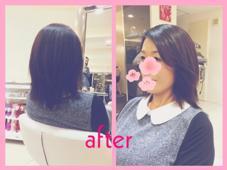 簡単スタイリング☆レイヤースタイル HAIR&MAKE seek所属・中村菜都美のスタイル