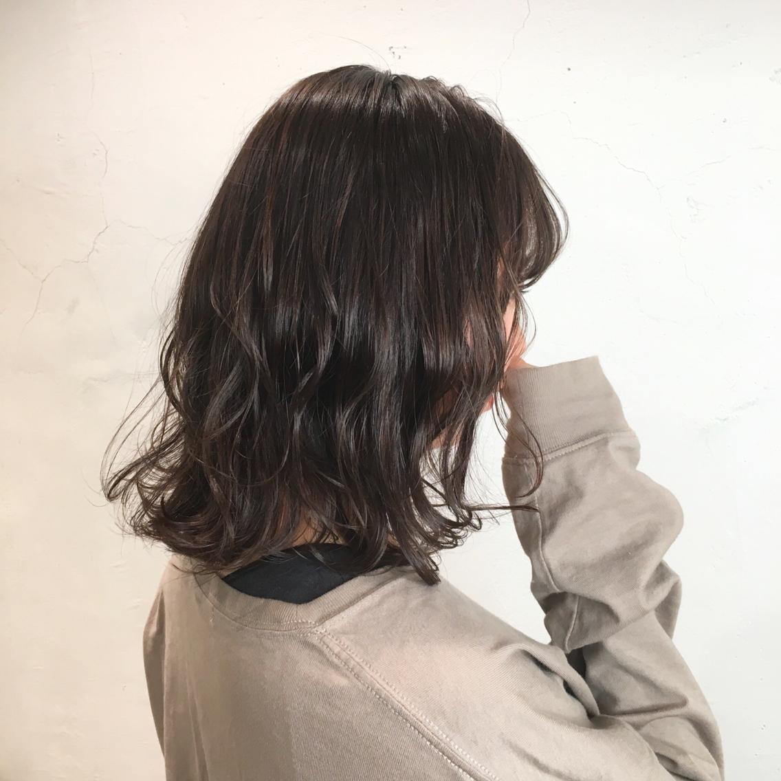 #ミディアム #カラー dark beige