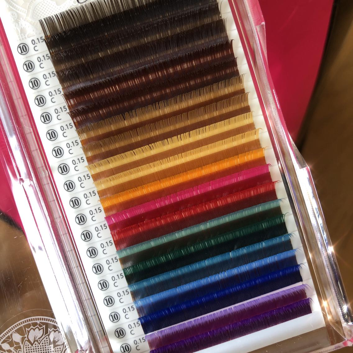 #その他 カラーエクステ ♡ 14色ご用意してます 𓅯
