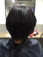 レディースショートグレージュカラー Road Hair池袋東口店所属・金子愛美のスタイル
