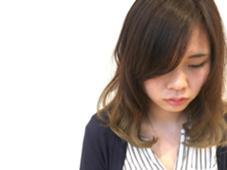 バレイヤージュ♡ グラデーション、 イルミナカラーです✨  slow garden 別府店所属・井口裕美のスタイル