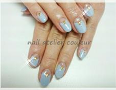 逆フレンチ nail atelier couleur所属・naomi♡のフォト