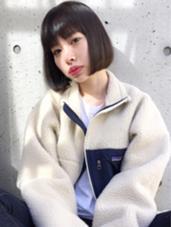nakameguro IDEA  SHINYA 【ナチュラリーボブスタイル】 中目黒 IDEAhairsalon所属・SHINYAトップスタイリストのスタイル