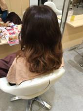 こちらはグラデーションカラーのダブルカラーです!  agu hair living所属・近藤充のスタイル