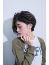 好感度抜群!大人ショートスタイル。 slowcafe + hair salon 8639所属・佐藤真輝のスタイル