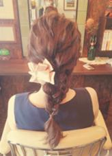 back style ⁂ chouette -Hair Make & Head Dress-所属・佐田波留佳のスタイル