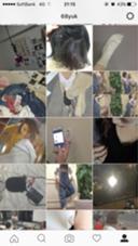 Instagram もヘア以外に服とかメイク道具など 可愛いと思ったものは載せているので、見てみてください♡♡ 'AXIS ガスビル店所属・三上夕貴のスタイル