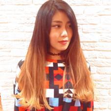 切りっぱなしロング cut→Ryuya Kanno✂︎ hair-brace所属・菅野竜矢のスタイル