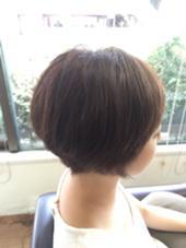 ショート大得意です\(^o^)/ hair an floren所属・ミツハシカズキのスタイル
