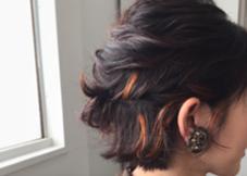 お客様スナップ ポイントカラー CONO  hair所属・ヒラオユウスケのスタイル