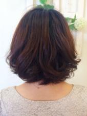 毛先だけふんわりパーマ♪ ings hair(イングス・ヘアー)所属・中村苑未のスタイル