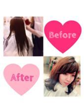 hair&make  j-genic所属・沼本舞桜のスタイル