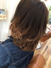 自然なつながりのグラデーションカラー⭐️  ブリーチは使ってません⭐️  でもベースの色の明るい方がオススメ⭐️   暗い方はブリーチをされた方が綺麗です⭐️ hair salon lehua所属・藤原まさとのスタイル