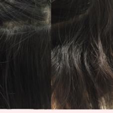 〜髪質改善〜 右の写真の髪質から ノーブローで、左の写真に! くせなどで、まとまりづらいかた、 おすすめです^_^ センター南 アース所属・畑中雄貴のスタイル