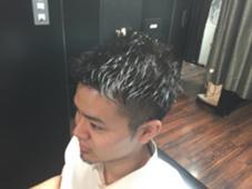 2ブロショートスタイル HIRO GINZA  ヘアーサロン  神田店所属・田中大地のスタイル