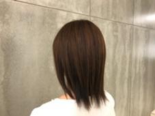 ナチュラルなローライト 松井悠実のスタイル