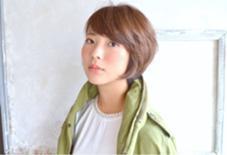 バックをすっきり!グラデーションボブ カラーはラベンダーアッシュで柔らかい質感に! grand所属・東村勇太のスタイル