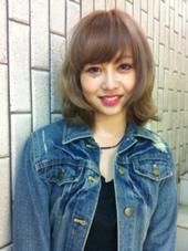 ミルフィーユカラー U-REALM  otto新宿所属・前髪スペシャリスト東直宙のスタイル