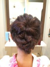 編み込みヘアアレンジ ROOP HairDesign所属・ROOPROOPのスタイル