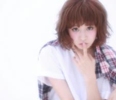 マルサラカラーはゆるめのパーマstyleで柔らかさを☆ Frais 町田所属・関口裕樹のスタイル
