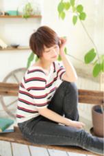 ✨すっきりショート ✨ココアブラウン felice  (フェリーチェ)所属・トップスタイリストoshimaのスタイル