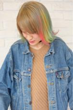 3Dカラー CHIC横浜 山下 お気軽に、ご指名ください★ CHIC横浜所属・山下礼華のスタイル