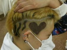 デザインカラー 自分の頭でもやります。。 Hair ARKS上大岡店所属・高橋えりかのスタイル