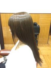 カラー&トリートメント  オレンジ味の髪の毛を解決。  #ラベンダーアッシュ  UNIX キラリトギンザ店所属・【ここをタッチ】松本じゅんのスタイル