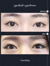 まつげエクステ×美眉スタイリング×アイスパのスペシャルコース♡ eyelilly所属・eyelilly(アイリリー)のスタイル