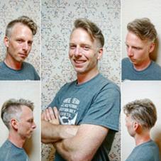 ツーブロックネオ7:3スタイルでワイルドに決めてます! Hair Salon Kaming所属・中村真也のスタイル