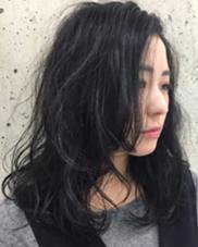 ダークトーンのアッシュとこなれ感パーマ❤︎ minim hair所属・ハマダマユミ。のスタイル