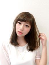 この夏はやっぱりグレージュ♡ hairstudioOLIVE南森町店所属・河野豊のスタイル