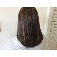 ハイライト×グレージュカラーで外国人風style☆ [+]tag's所属・中野美菜子のスタイル