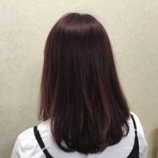 バイオレットカラー!! WUV HAIR所属・佐藤千波のスタイル