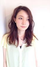 柔らかさを出した、ウェーブスタイル☆ shiang(シアン)所属・かやぬまあやのスタイル