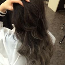グラデーションカラー 流行りのグレージュ♡ Hair Salon Lapis所属・手塚有観のスタイル