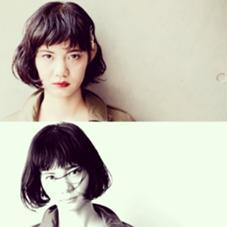 ☆ノスタルジックBOB☆ ドライ×ウェットの質感MIXで媚びない女らしさストレートタッチのウェットな前髪と毛先はワンカールのウェット質感で、ぐっとこなれた雰囲気に。ラフだけどきちんと感もあり上品な色っぽさを演出してくれます(^○^) green STUDIO所属・寺田和真のスタイル