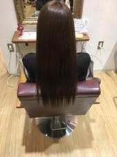 秋カラーで8レベルのグレージュに染めさせて 頂きました(*´˘`*)♡  hair relaxation rire所属・渡辺七海のスタイル