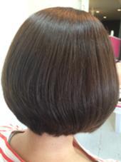 7トーン濃いめのマットアッシュ UP-PU  ART   HAIR所属・前田菜津美のスタイル
