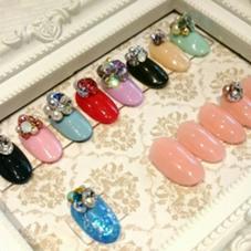 3D NAIL ARTで指環がなくてもキラキラのお手元に✨✨ DONNA旭ヶ丘店所属・堂ヶ平彩乃のフォト