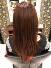 レッドブラウン❗️ hair & make earth 調布店所属・富田尚樹のスタイル