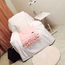 当店自慢のふっかふかのリクライニングチェアー♡ 長谷川香織のフォト