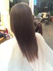 グレージュカラー Hair Salon Lapis所属・手塚有観のスタイル
