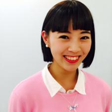 ワイドバングのパッツンボブ! 肩下からバッサリイメチェン♪ HACO所属・相川帆乃香のスタイル