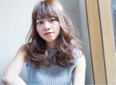 外ハネMixウェーブ LOGICA HAIR DESIGN所属・衣笠雅俊のスタイル