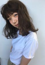 ブリーチなしでも透ける透明感のあるカラーに◎ #yukimage ❤︎❤︎❤︎ 'AXIS ガスビル店所属・三上夕貴のスタイル