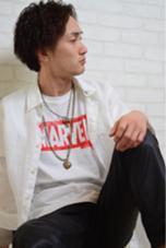 メンズパーマスタイルです! かきあげで大人っぽく! haco+yuimarl所属・井上翔のスタイル