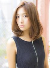 柔らかロブ×ディープブラウン☆ COIFF1RST原宿所属・COIFF1RST原宿のスタイル